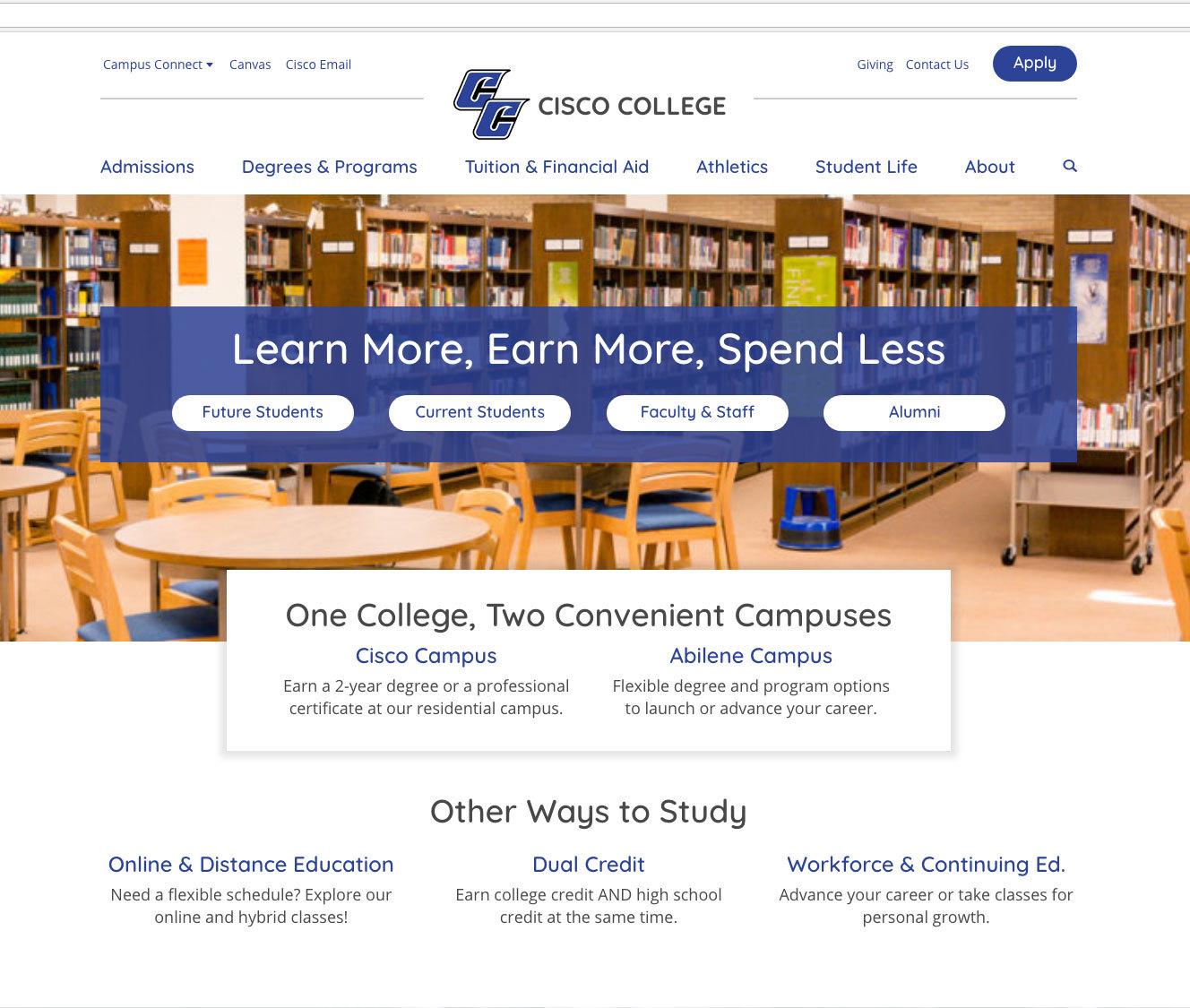 Cisco College News | Cisco College